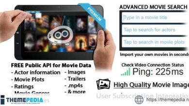 HTML/CSS/PHP/JS Ultimate Movie Scraper Site – [Free Codecanyon Script download]