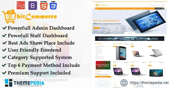Ecommerce – Cryptocurrency Supported Responsive eCommerce Business Platform – [100% Nulled Script]