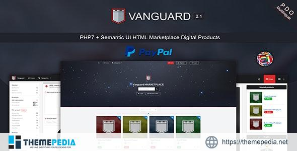 Vanguard – Marketplace Digital Products PHP7 – [Free Codecanyon Script download]