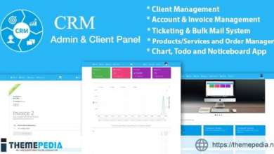 CRM   Ticketing   Sales   Products, Client and Business Management System With Material Design – [Download Torrent]