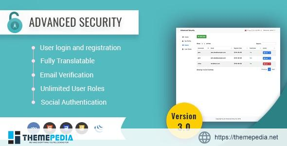 Advanced Security – PHP Register/Login System – [100% Nulled Script]