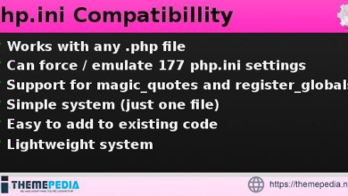 php.ini Compatibility – [100% Nulled Script]