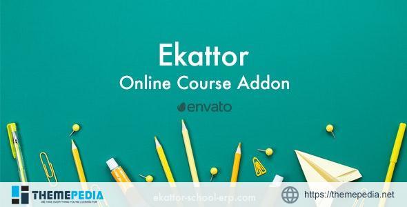 Ekattor Online Course Addon – [Free Download]