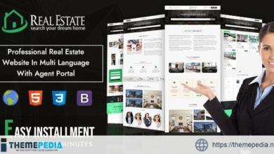 Real Estate Custom Script – [Free Codecanyon Script download]