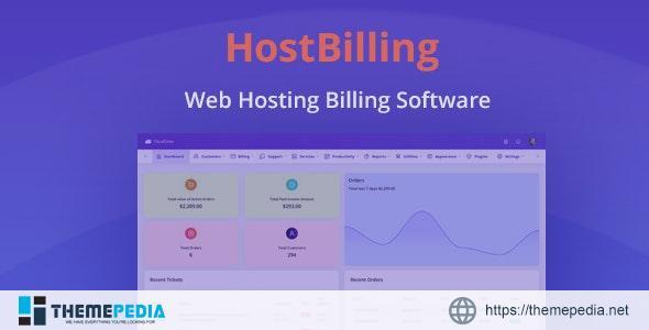 HostBilling – Web Hosting Billing & Automation Software – [100% Nulled Script]