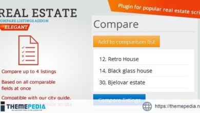 Real Estate Compare Listings – [100% Nulled Script]