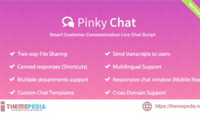 Pinky Chat – Live Chat Support Script – [100% Nulled Script]