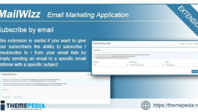 MailWizz EMA – Subscribe by email – [Free Codecanyon Script download]