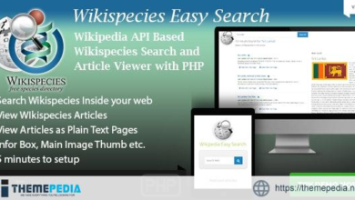 Wikispecies Easy Search – Wikipedia API Based PHP Dictionary Script – [Codecanyon Scripts]
