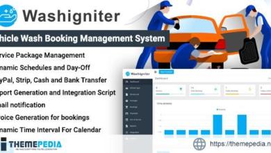 Washigniter – Vehicle Wash Booking Management System – [Codecanyon Scripts]