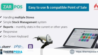 Zar POS – point of sale web application – [100% Nulled Script]