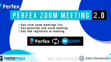 Perfex Zoom Meeting Module – [Codecanyon Scripts]