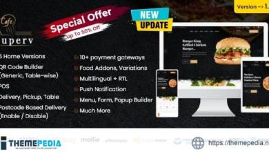 Superv – Restaurant Website Management with QR Code Menu – [100% Nulled Script]