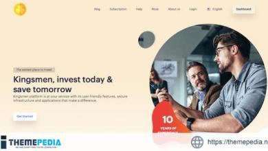Kingsmen v3.2 – Automated Investment Platform – [Free Codecanyon Script download]