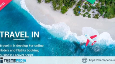 Travelin – Hotel & Air Tickets Booking Laravel Script – [Free Download]