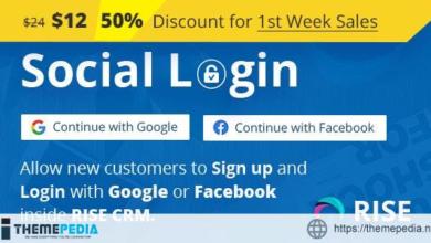 Social Login for RISE CRM – [100% Nulled Script]
