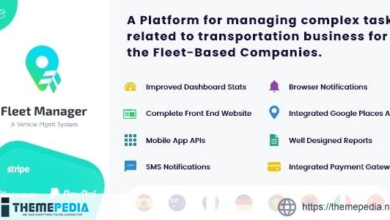 Fleet Manager – Vehicle Management & Booking System – [Free Codecanyon Script download]