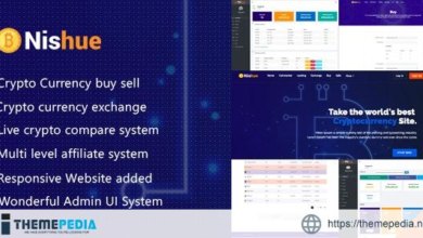 Nishue – CryptoCurrency Buy Sell Exchange and Lending with MLM System   Crypto Investment Platform – [Free Codecanyon Script download]