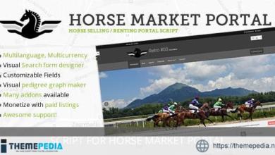 Horse Market Sell & Rent Portal – [100% Nulled Script]