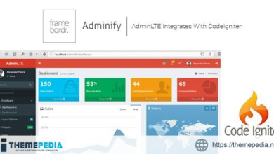 Adminify – AdminLTE Integrated With CodeIgniter + User Authentication + User Management With AJAX – [Free Download]