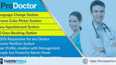 ProDoctor – Doctor Appointment System with Portfolio Management – [Free Codecanyon Script download]