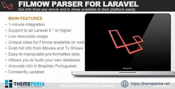 Filmow Parser for Laravel – [100% Nulled Script]