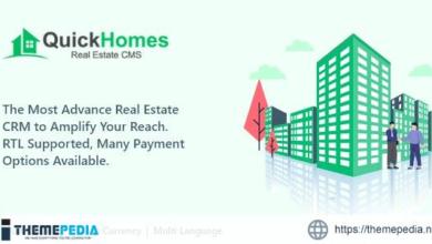 QuickHomes – Real Estate CMS PHP Script – [Download Torrent]