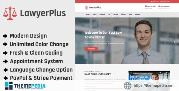 LawyerPlus – Online Lawyer Appointment Management CMS – [Download Torrent]