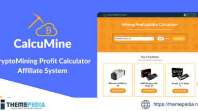 CalcuMine – Cryptocurrency Mining Calculator & Amazon Affiliate System – [100% Nulled Script]