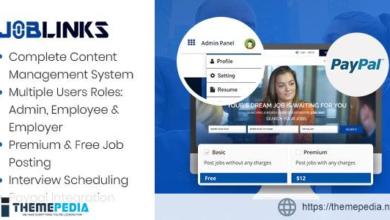 Job Links – Complete Job Management Script – [100% Nulled Script]