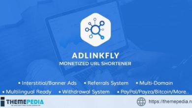 AdLinkFly – Monetized URL Shortener – [Free Download]