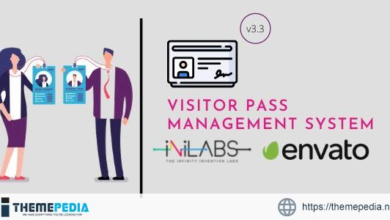 Visitor Pass Management System – [100% Nulled Script]
