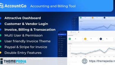 AccountGo – Accounting and Billing Tool – [100% Nulled Script]