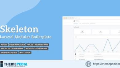 Skeleton – Laravel Modular Boilerplate – [Download Torrent]