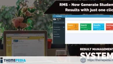 RMS – Laravel Result Management System – [100% Nulled Script]