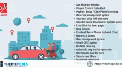 LaraRent – Multipurpose Vehicle Rental System Laravel Script – [Free Codecanyon Script download]