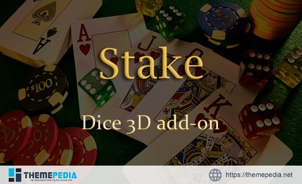 Dice 3D Add-on for Stake Casino Gaming Platform – [Codecanyon Scripts]