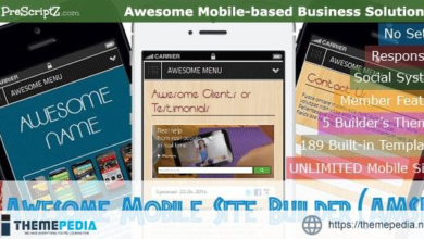 Awesome Mobile Site Builder (AMSB) – PRO – [Free Download]
