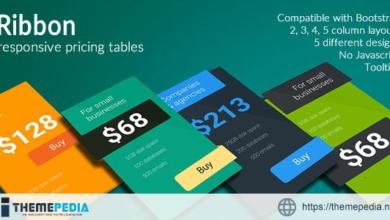 Ribbon – Responsive Pricing Tables – [Codecanyon Scripts]