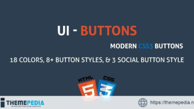 UIButton – A Modern CSS3 Buttons Collection – [100% Nulled Script]