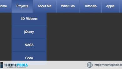 CSS3 Drop Down Menus – [Free Codecanyon Script download]