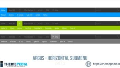 Argus – Horizontal Submenu – [Download Torrent]