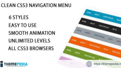 Pure Css3 Horizontal Navigation Menu – [100% Nulled Script]