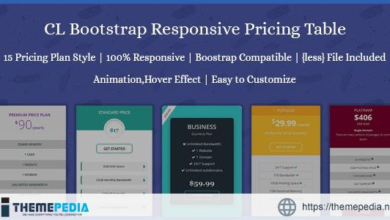 CL Bootstrap Responsive Pricing Table – [Codecanyon Scripts]