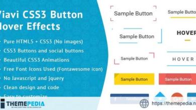 Viavi CSS3 Button Hover Effect – [Download Torrent]
