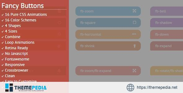 Fancy Buttons – [Free Codecanyon Script download]