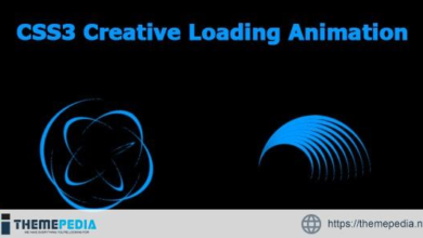 CSS3 Creative Loading Animation – [100% Nulled Script]