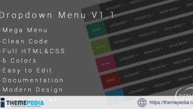PickArt – Modern DropDown Menu v1.1 – [Free Codecanyon Script download]