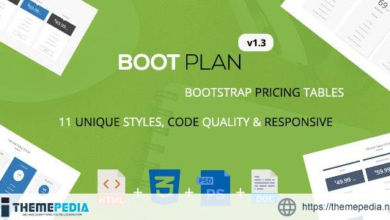 Bootplan – A Responsive Bootstrap Pricing Tables   v1.3 – [100% Nulled Script]