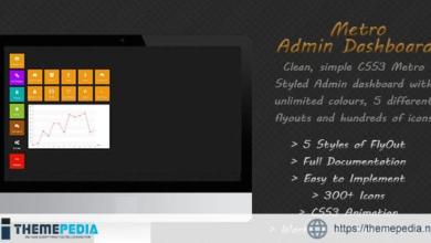 Metro Admin Dashboard – [100% Nulled Script]